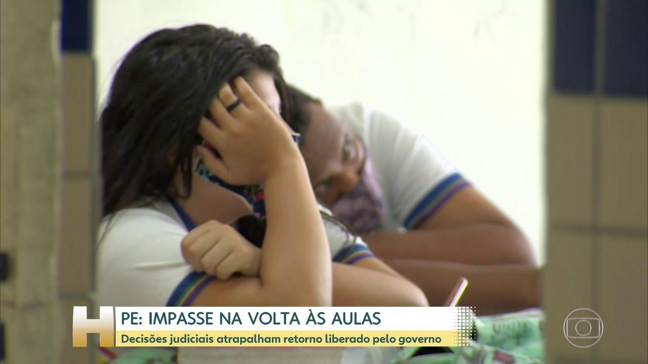 Volta às aulas presenciais em Pernambuco tem nova reviravolta