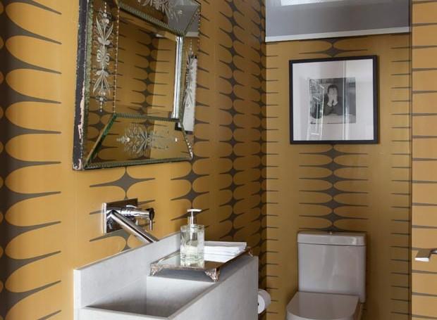 lavabo-papel-de-parede-Carlos-Navero (Foto: Marco Antonio/Editora Globo)