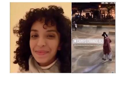 Agnes Brichta, filha de Vladimir Brichta, anda de skate e fará uma personagem skatista na novela Reprodução