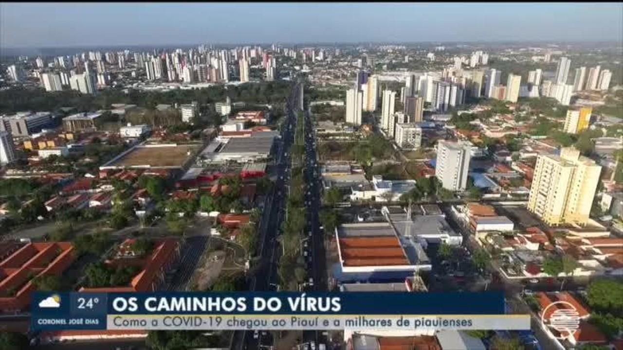 Os caminhos do vírus: como a Covid-19 chegou até o Piauí