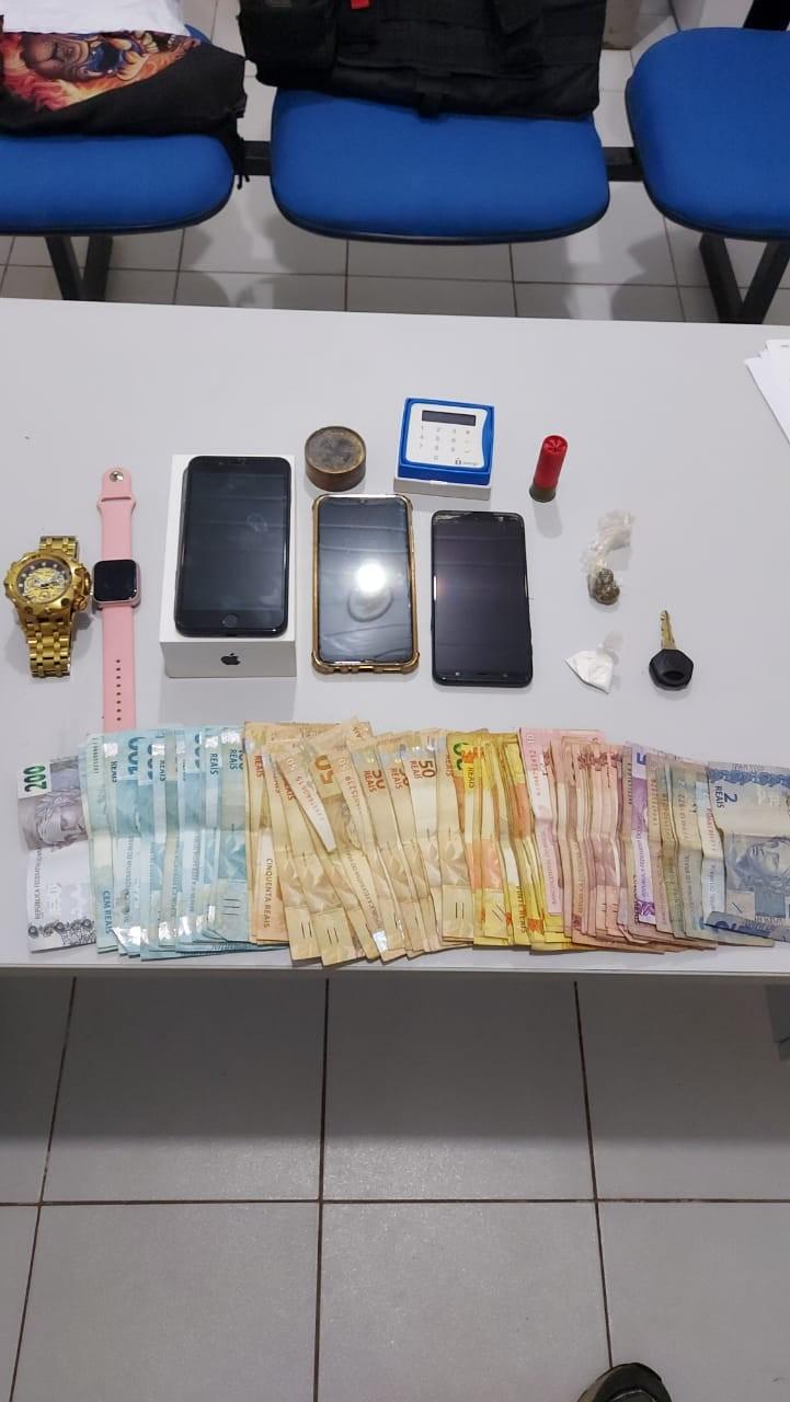 Suspeito de tráfico de drogas é preso com R$ 5,7 mil em espécie no Maranhão
