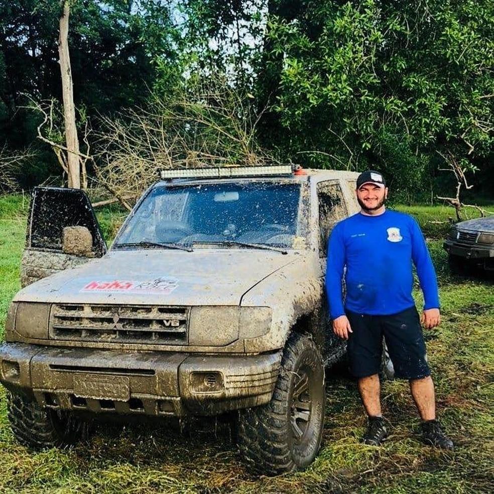 Fantone Maia, de 41 anos, participava de um clube de jipes. Ele morreu neste sábado (30) — Foto: Reprodução/Redes Sociais