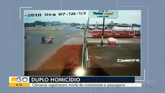 Vídeo mostra momento em que funcionária de motel é morta a tiros na saída do trabalho, em Rio Verde