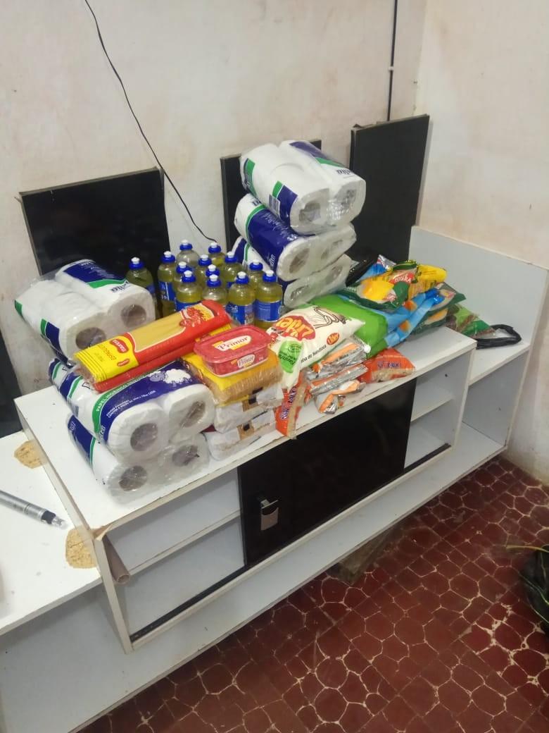 Assaltantes são presos após furtar objetos e alimentos do CRAS e da prefeitura de Flexeiras, AL