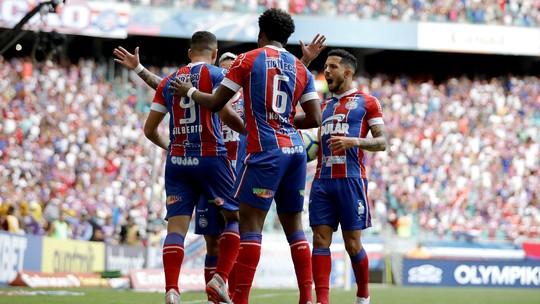 Bahia e Fortaleza empatam por 1 a 1; assista aos destaques do jogo