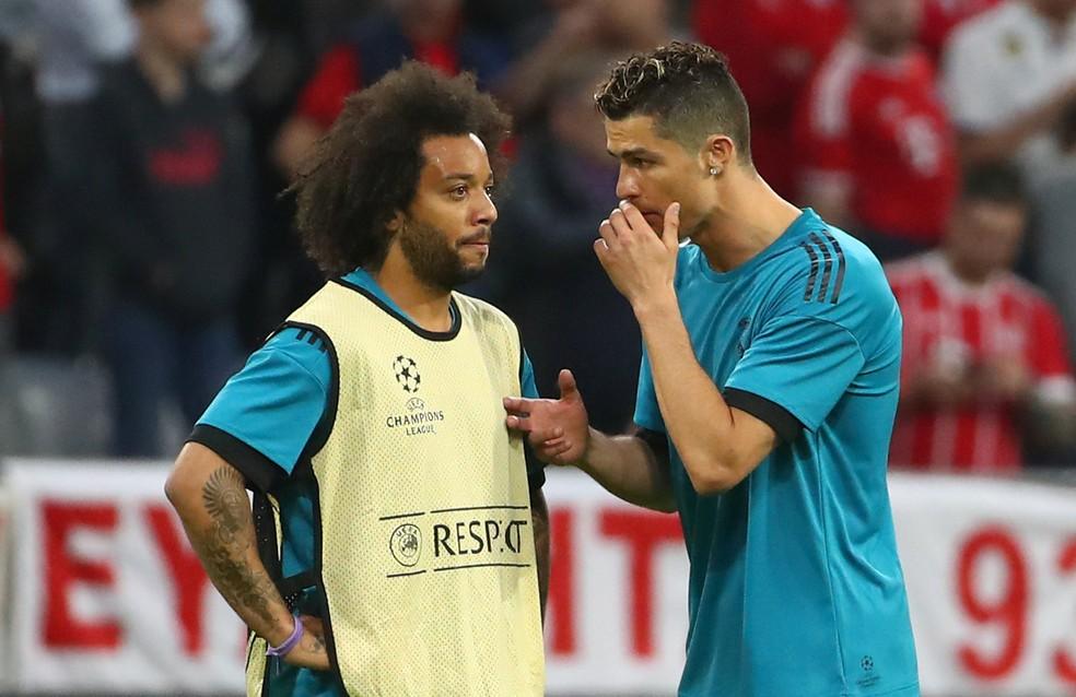 0fef99040d ... Marcelo e Cristiano sempre mostraram grande entrosamento no Real  Madrid