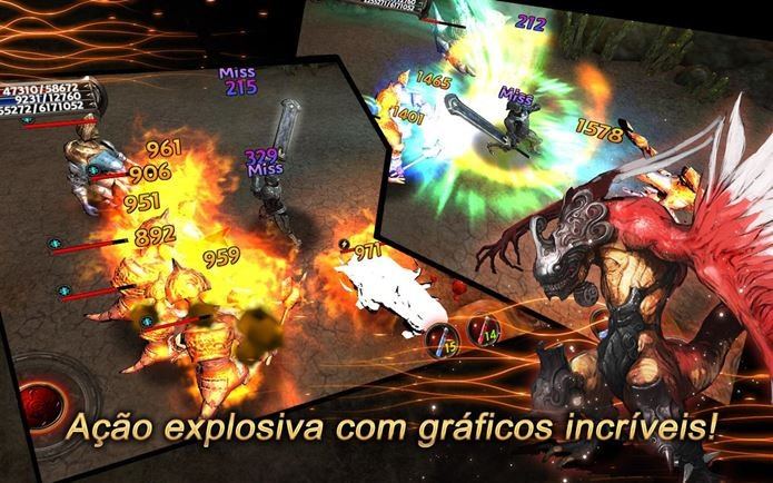 MMORPG para Android que mais parece um jogo de ação (Foto: Divulgação)