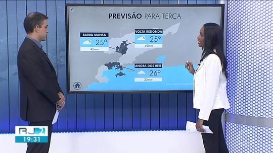 Previsão é de chuva para terça-feira no Sul do Rio
