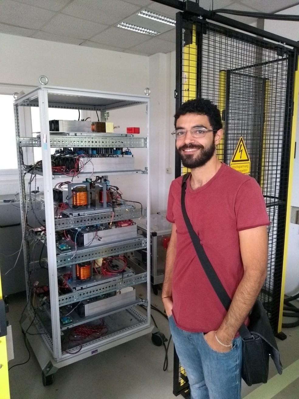 """Allan Cupertino, de 29 anos, ganhou como autor da """"melhor tese"""" sobre energia renovável. — Foto: Arquivo pessoal"""