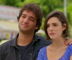 Fabinho (Humberto Carrão) e Giane (Isabelle Drumnond) | Reprodução