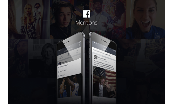 Mention, o app do Facebook para as celebridades ganhou novas fun??es (Foto: Divulga??o/Facebook)