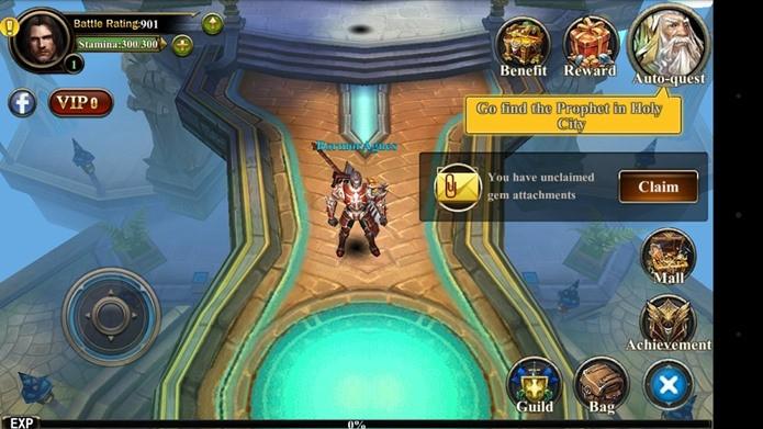 Burning Blade é um dos melhores MMORPG para Android (Foto: Divulgação)