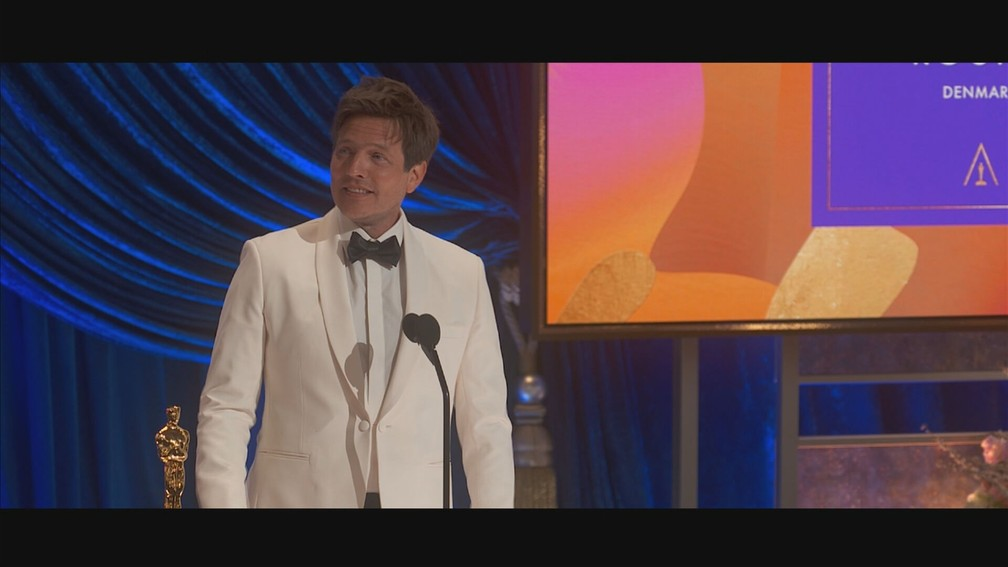 Druk leva o Oscar de Filme Internacional no Oscar 2021 — Foto: Reprodução