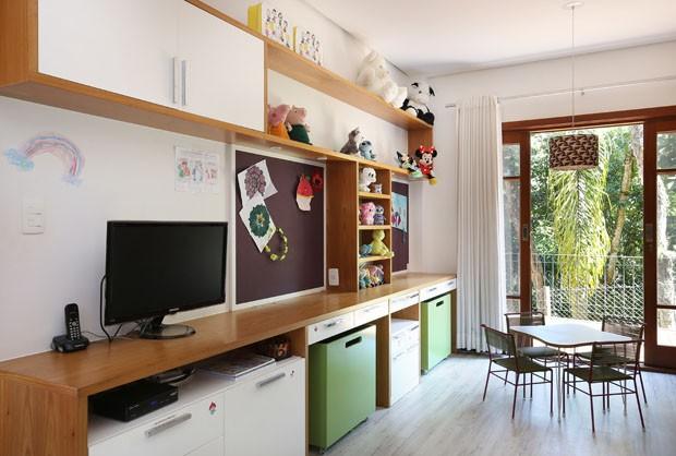 Um lar com alma jovem para um casal com duas filhas (Foto: Divulgação)