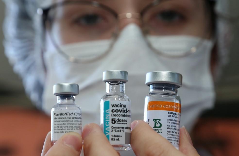 Litoral do Paraná tem cidades com vacinação avançada para grupos com idades menores. — Foto: Giuliano Gomes/PR Press