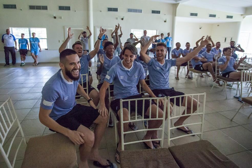 Geromel convocado para a Copa do Mundo (Foto: Lucas Uebel / Grêmio, DVG)