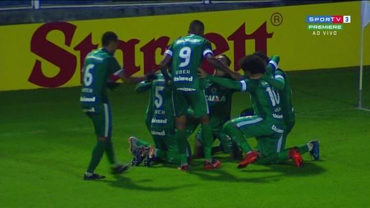 O gols de Avaí 0 x 1 Goiás pela 14ª rodada da série B do Brasileirão
