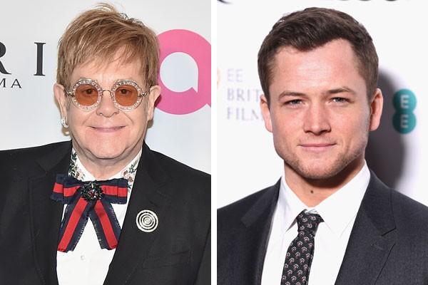 Elton John e Taron Egerton (Foto: Getty Images)