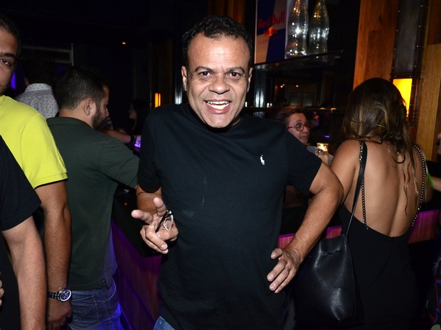 Ex-BBB Daniel em festa na Zona Sul do Rio (Foto: Roberto Teixeira/ EGO)