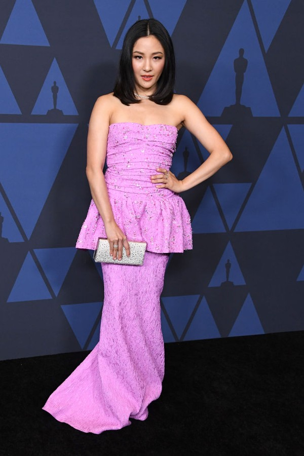 HOLLYWOOD, CALIFORNIA - OCTOBER 27: Constance Wu arrives at the Academy Of Motion Picture Arts And Sciences' 11th Annual Governors Awards at The Ray Dolby Ballroom at Hollywood & Highland Center on October 27, 2019 in Hollywood, California. (Photo by Ste (Foto: WireImage)