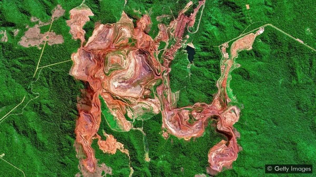 As 'cicatrizes' gigantes sobre a Terra deixadas pela mineração