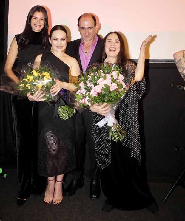 Regina Duarte e Gabriela Duarte são homenageadas (Foto: Manuela Scarpa/Brazil News)