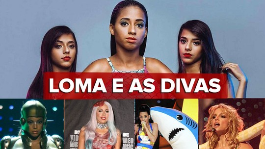 MC Loma e as Gêmeas Lacração preparam show e avaliam figurinos de divas que podem inspirá-las; VÍDEO