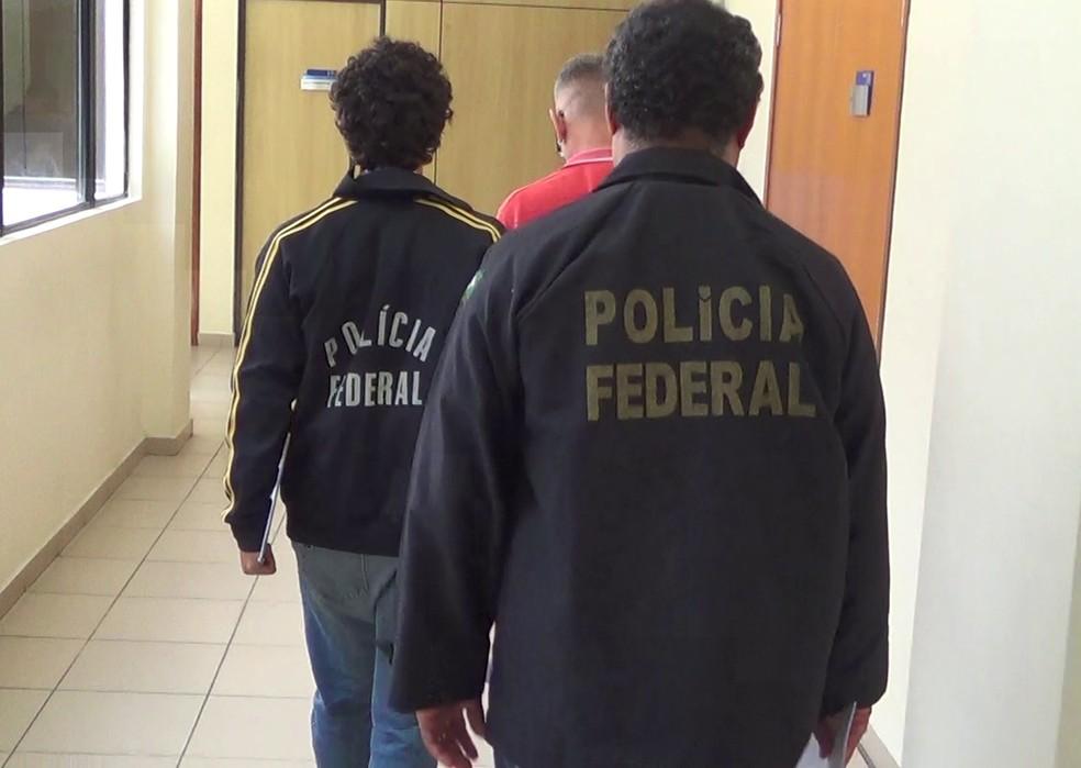 Espanhol foi preso na Praia de Búzios, município de Nísia Floresta, Região Metropolitana de Natal (Foto: Divulgação/PF)