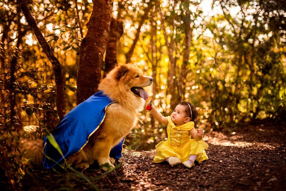 'Eles são os melhores amigos, os melhores irmãos que poderia existir', disse a mãe de Ava (Foto: Penha Ferreira/Estúdio Casa Amarela)