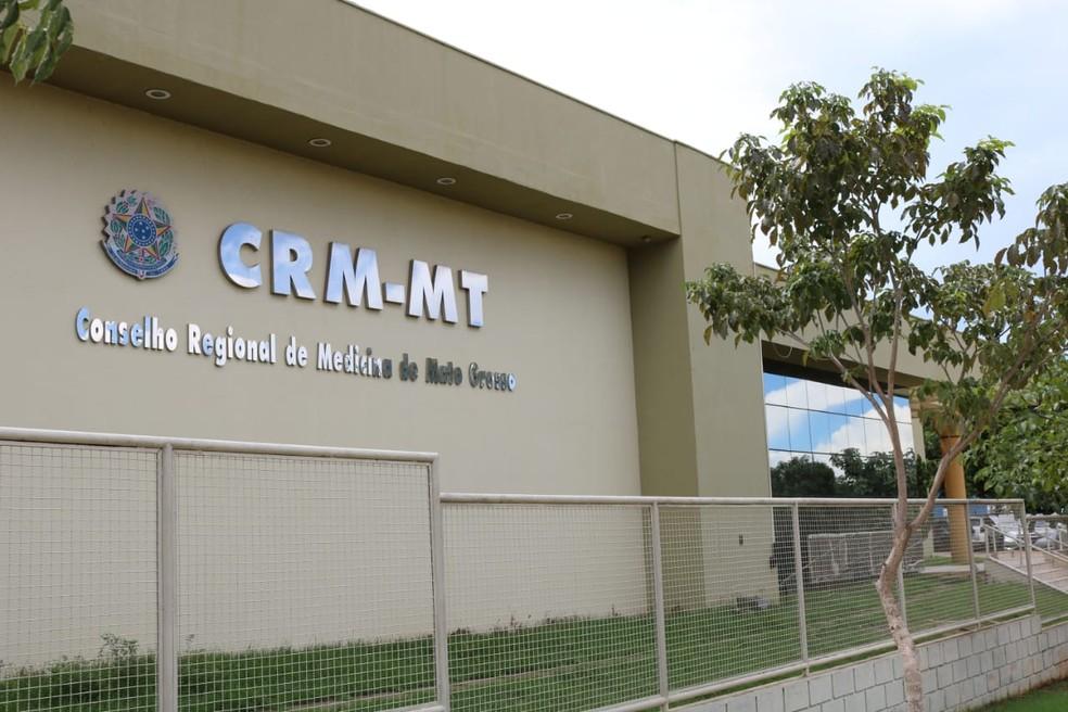 Conselho Regional de Medicina — Foto: CRM-MT