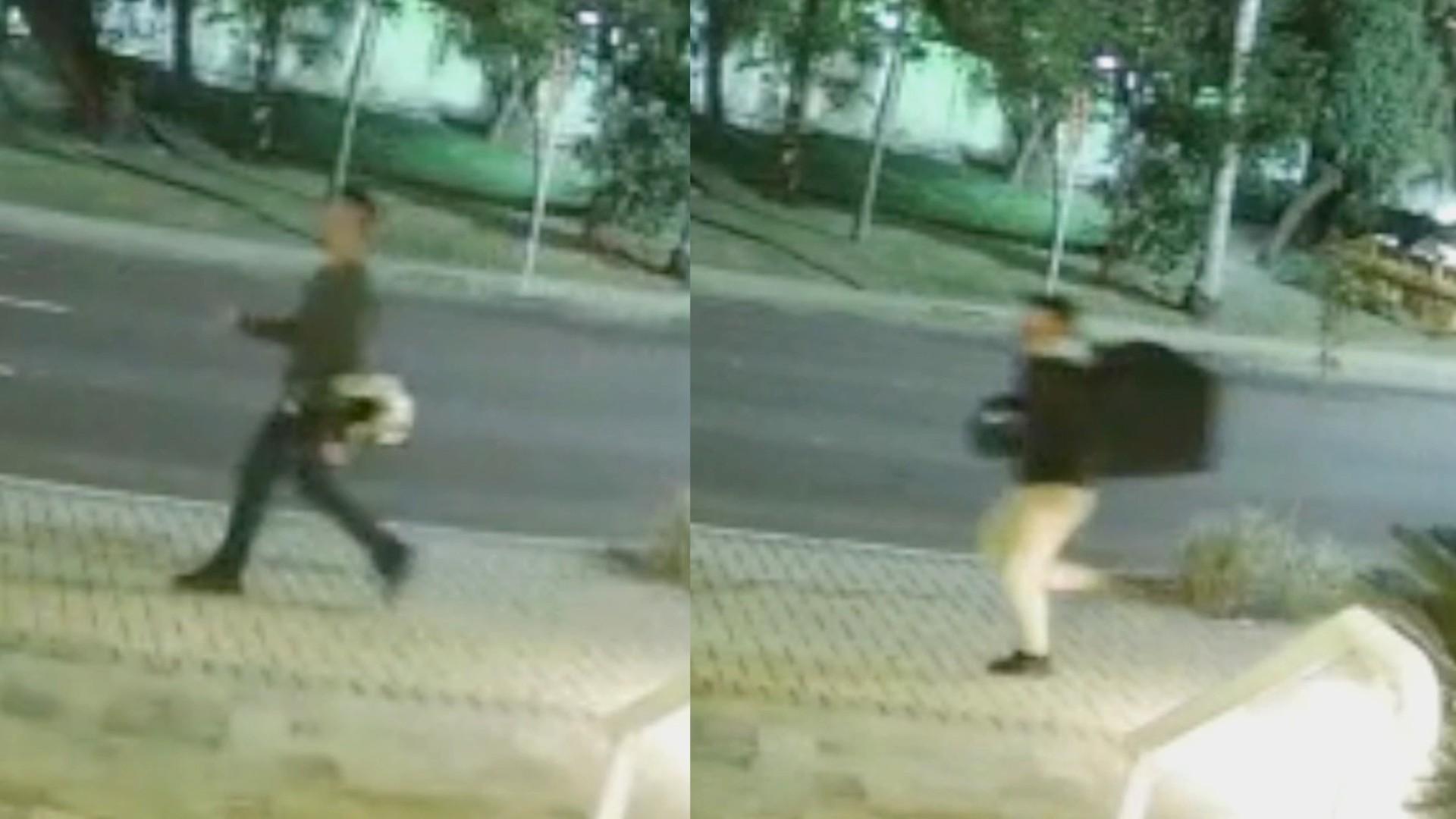 Polícia divulga vídeo de suspeitos de atirarem em jovem empresário de criptomoedas, em Curitiba