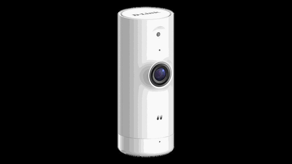Câmera é compacta e destinada para o uso interior — Foto: Divulgação/D-Link