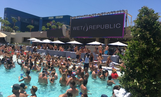 Pool Party em Las Vegas
