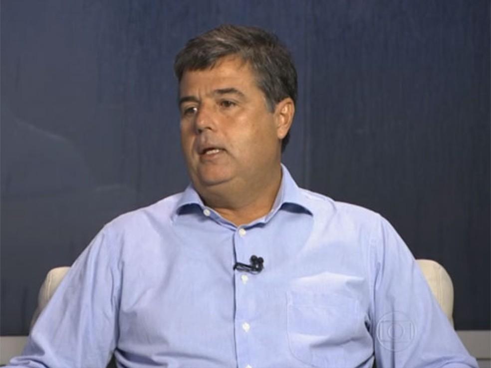 André Correa assumiu a secretaria do Ambiente em janeiro de 2015 — Foto: Reprodução / TV Globo