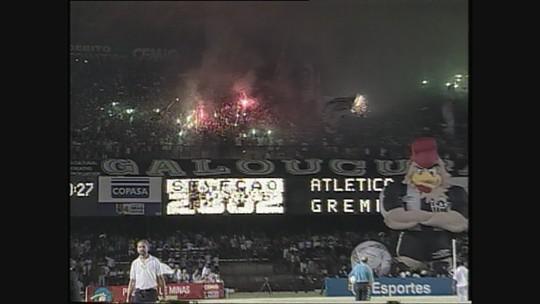 Você se lembra? Em 2001, Galo vencia o Grêmio em noite de 100º gol de Marques