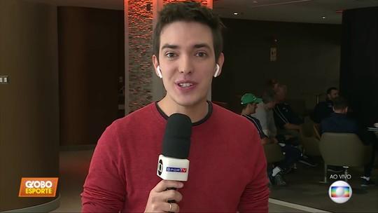 Direto do Peru, Alessandro Jodar traz as informações do Palmeiras que enfrenta o Melgar
