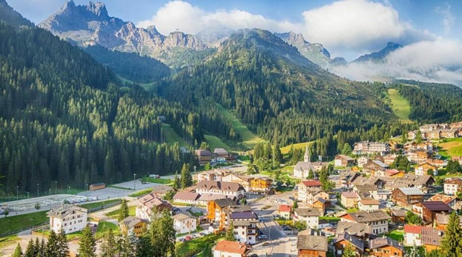 A região das Dolomitas, para onde o participante poderá viajar. (Foto: Divulgação)
