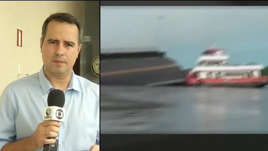 Ponte desaba e interrompe ligação de Belém com Pará