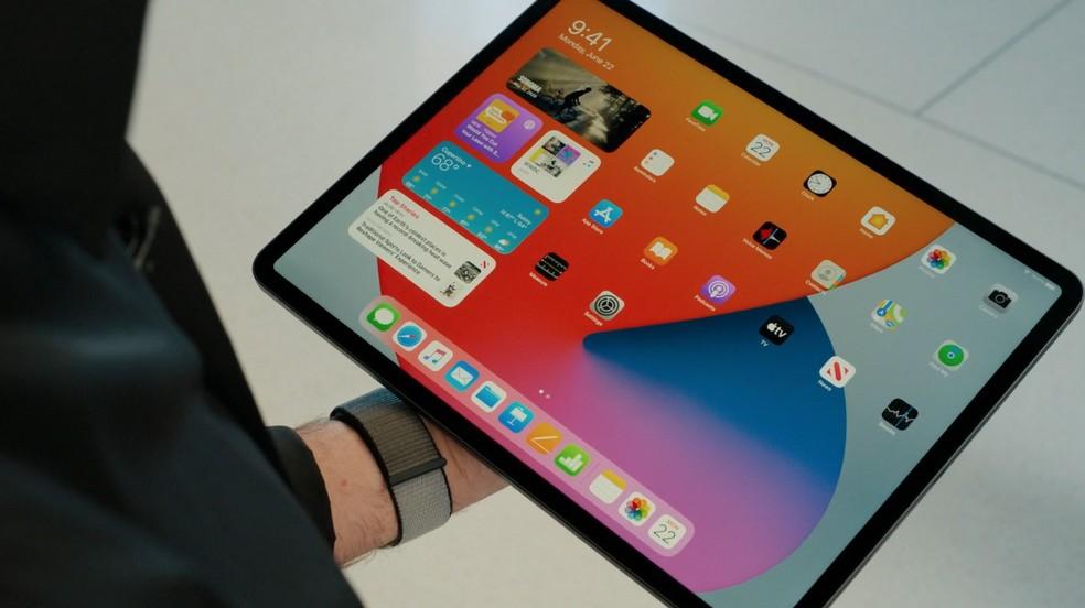 iPadOS 14 é a nova versão do sistema para iPads — Foto: Reprodução/Apple