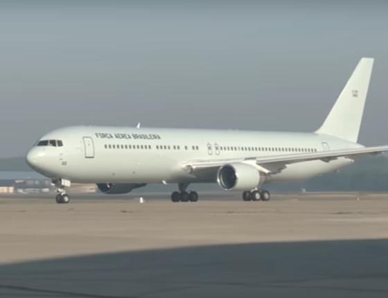Avião usado pelo presidente Michel Temer (Foto: Divulgação)