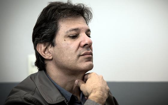 Fernando Haddad O ex-prefeito de São Paulo (Foto:  Bruno Santos/Folhapress)