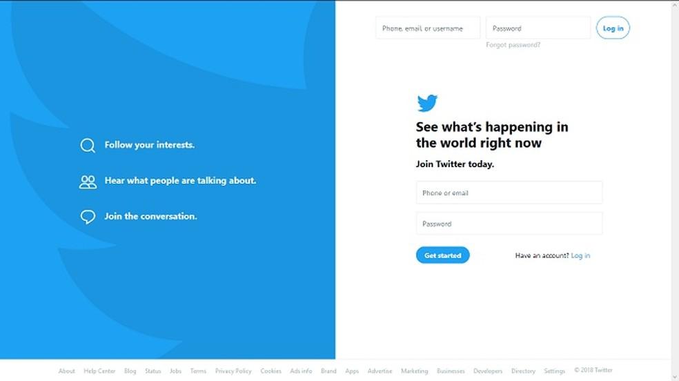 O Twitter estimulou o uso das hashtags (Foto: Reprodução/Bárbara Fernandes)