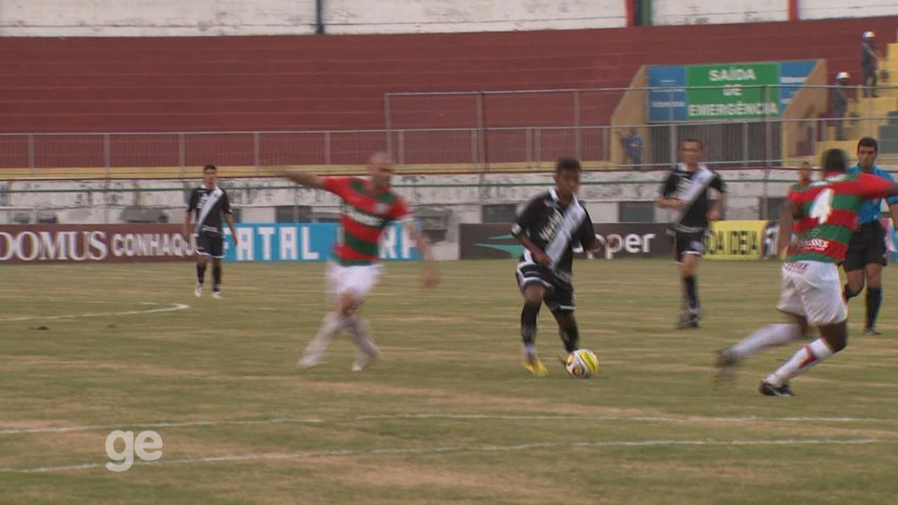 Gol de Renatinho na vitória da Ponte Preta por 3 a 1 sobre a Portuguesa, pelo Paulistão