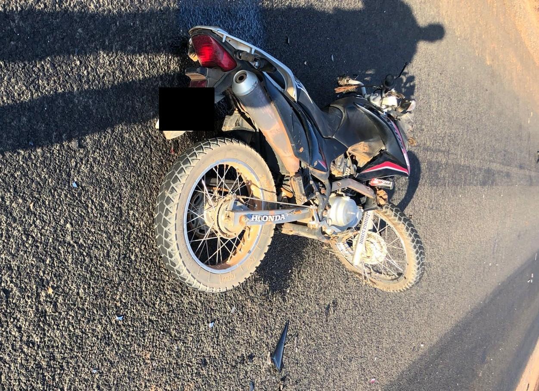 Motociclista morre após colisão com outro veículo na PI-135, no Sul do Piauí