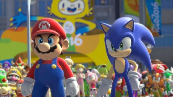 Mario e Sonic juntos nas Olimpiadas do Rio 2016 (Foto: Divulgação/Nintendo)