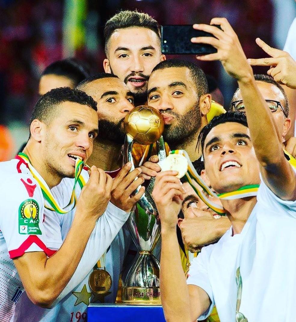 Wydad Casablanca é um dos estreantes no Mundial de Clubes (Foto: Reprodução/Instagram)