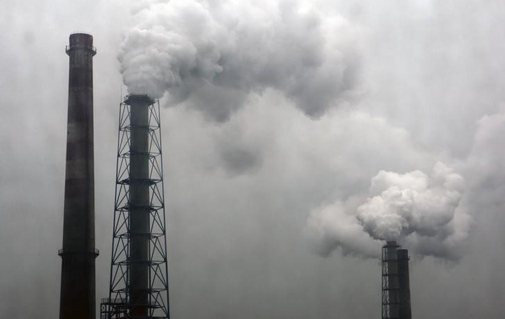 Concentração de gás carbônico na atmosfera é a maior em 3 milhões ...