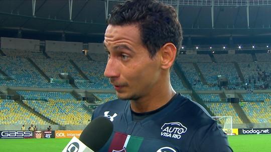 """Ganso leva cartão amarelo, fica suspenso em Vasco x Fluminense e se surpreende: """"Nem sabia"""""""