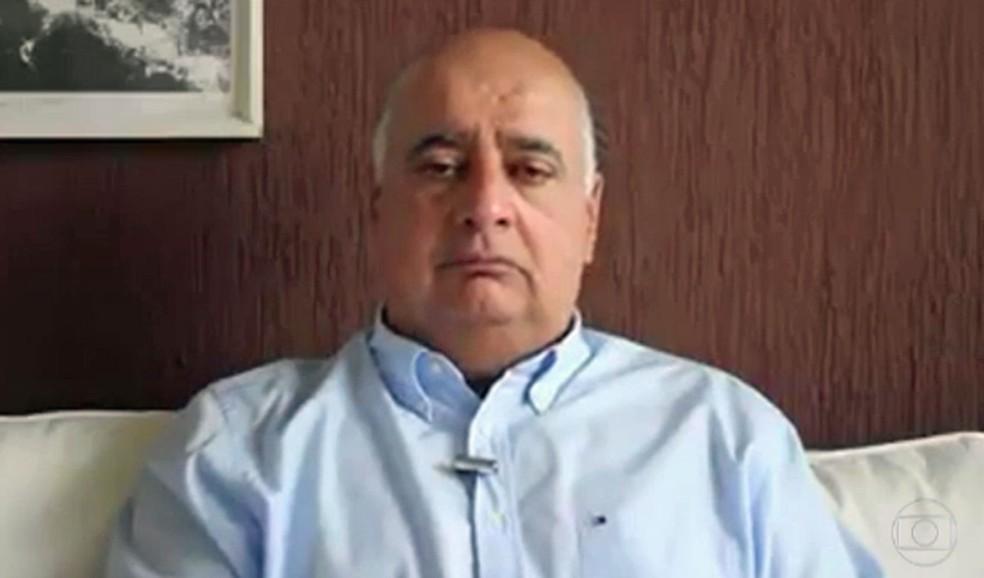 Rogério Onofre, ex-presidente do Detro, é alvo da operação da Lava Jato, (Foto: Reprodução/Globo)