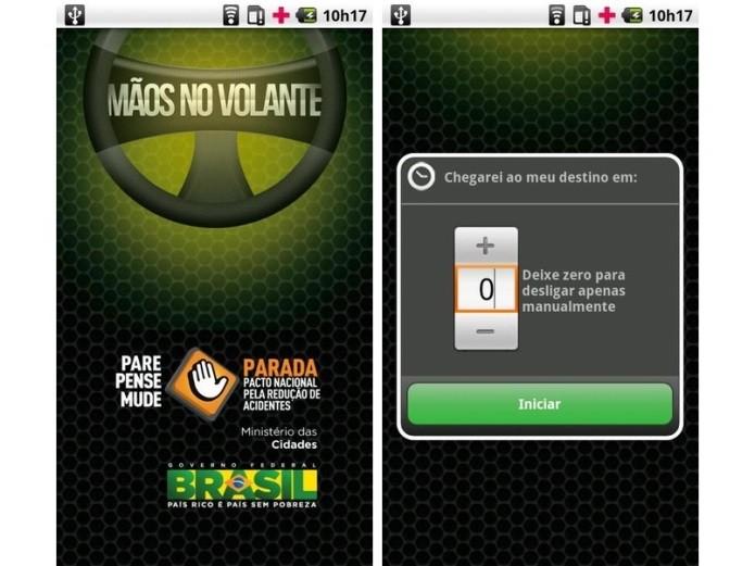 O app Mãos no Volante bloqueia ligações e mensagens enquanto o usuário dirige (Foto: Divulgação)